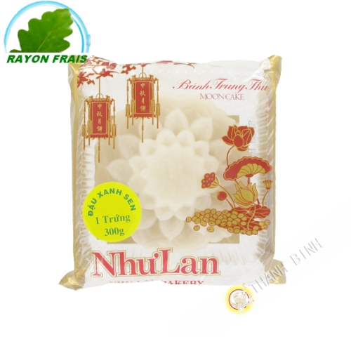 Gâteau de lune blanc soja-lotus 1T 300g