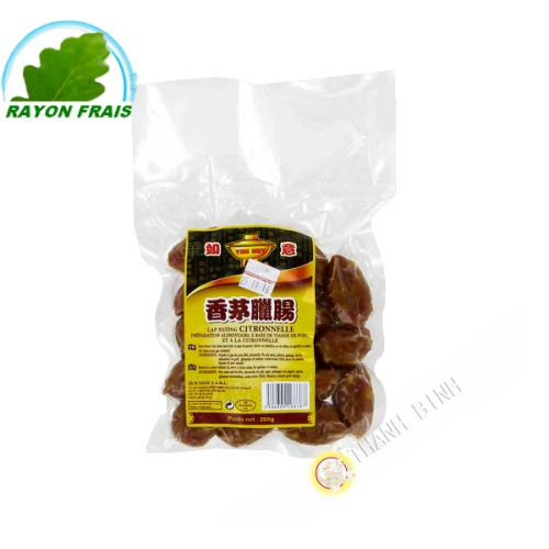 Saucisse citronnelle You Huy 200g