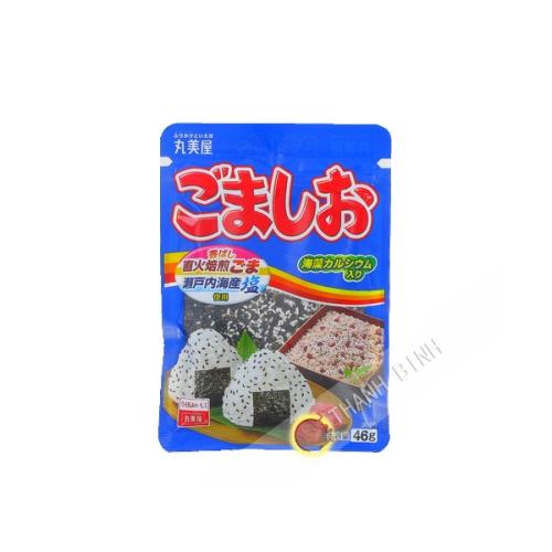 Sésame noir grillé salé Gomashio MARUMIYA 46g Japon