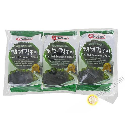 Algues préparation HOSAN 3x4.5g Corée