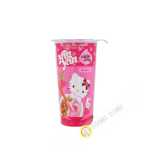 Biscuit Meiji yanyan stick fraise HELLO KITTY 50g Chine