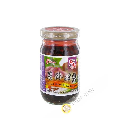 Sauce à l'oignon frit avec huile de soja MASTER 210g Taiwan
