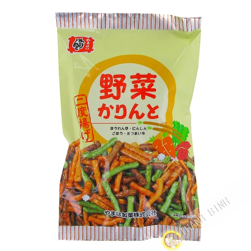 Biscotin Karinto goût légume YAMAHA 140g Japon