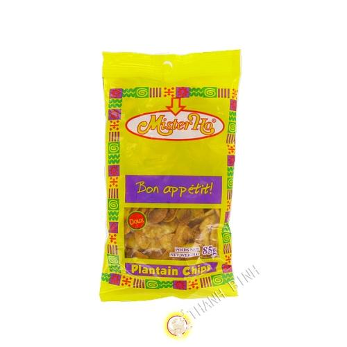 Chip banane plantain doux 85g - Afrique