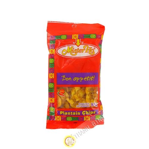 Chip banane plantain pimenté 85g - Afrique