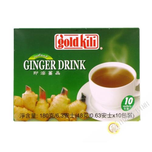 Préparation boisson gingembre 180g