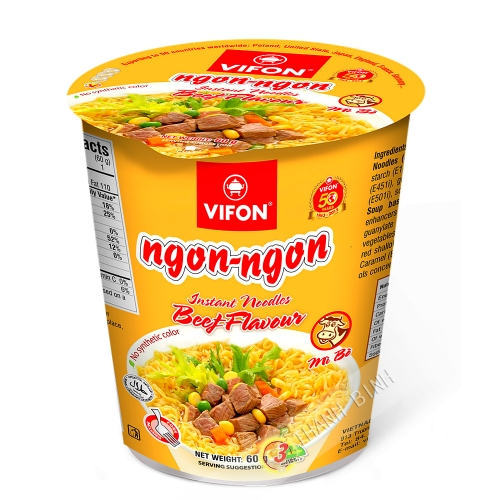 Soupe boeuf Bol Ngon Ngon 60g - Viet Nam
