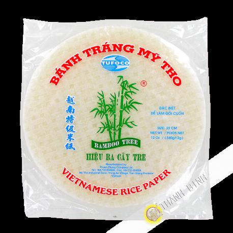 Galette de riz 22cm 3 Bambou Vietnam 340g
