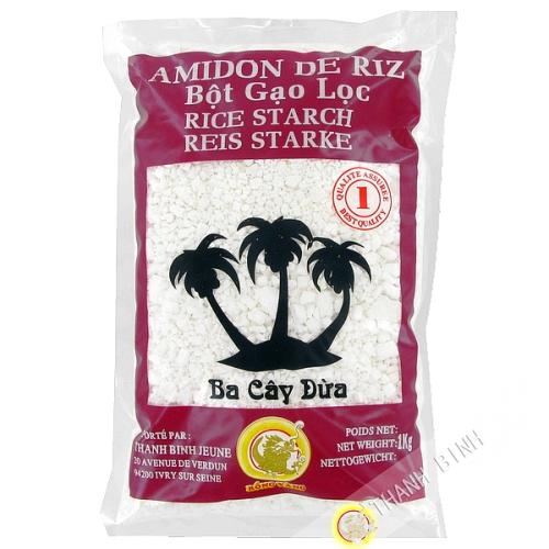 Amidon riz morceaux 1kg - Viet Nam