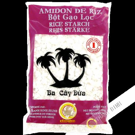 Amidon de riz en morceaux dragon or 250g for Amidon en cuisine