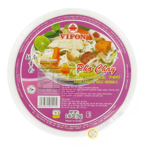 Soupe  pho végétarien Bol 70g