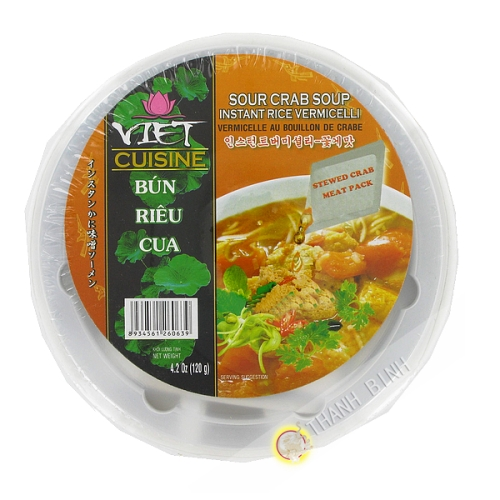 Soupe vermicelle bun rieu cua Bol VIET CUISINE VIFON 120g Vietnam
