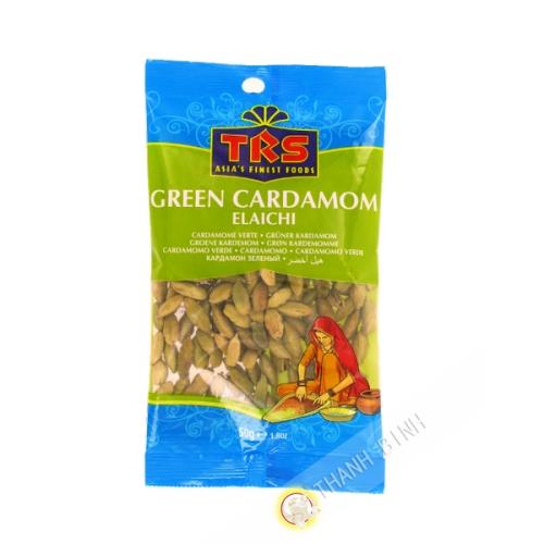 Cardamome vert TRS 50g Royaume-Uni
