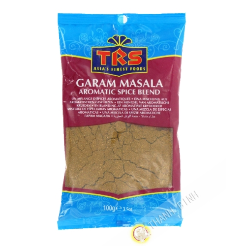 Garam Masala en poudre TRS 100g Royaume-Uni