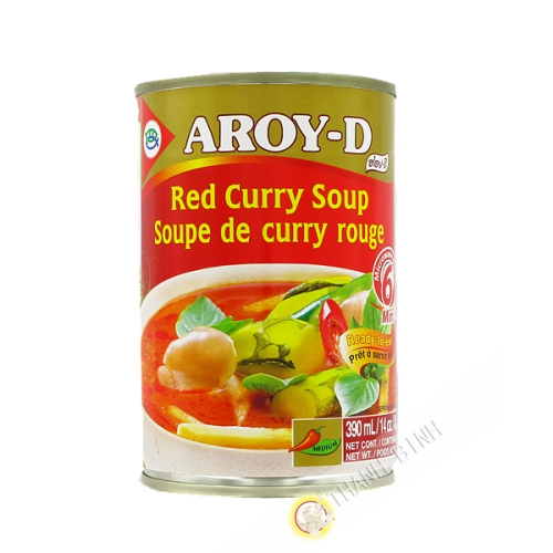 Preparation sauce curry rouge 400ml