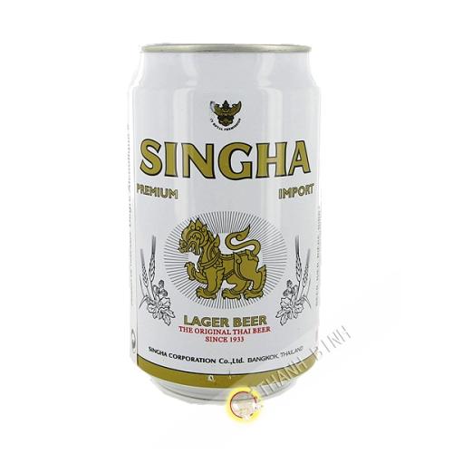 Bière Singha Can 330ml 5° Thailande