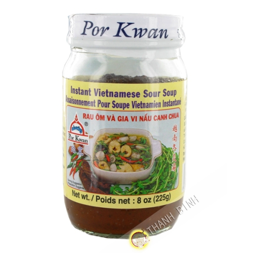 Preparation soupe canh chua 225g