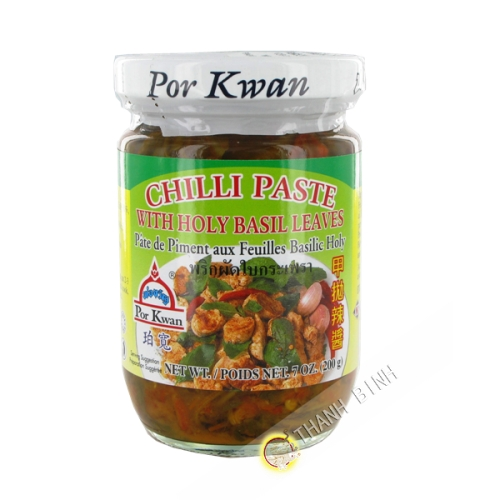 Pate pimenté basilic tiato 200g