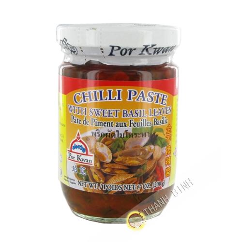Pate piment basilic 200g