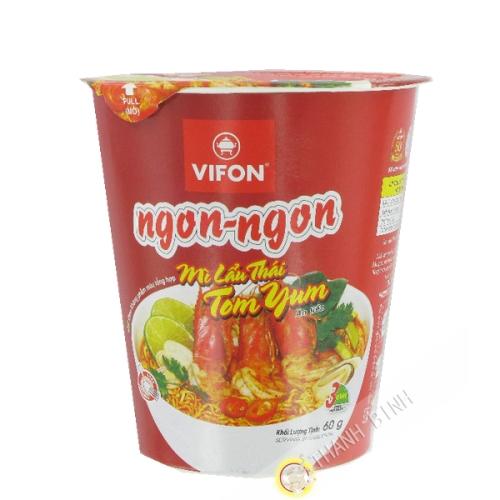 Soupe Nouille Lau Thai Tom Yum VIFON Bol 60g Vietnam