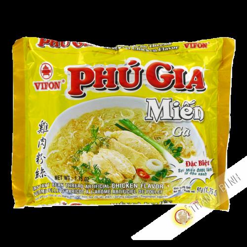 Soupe vermicelle poulet PHU GIA VIFON 50g Vietnam