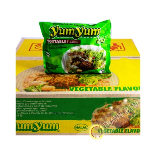Nouille instantanee Yum vegetarien 30x60g - Thaïlande