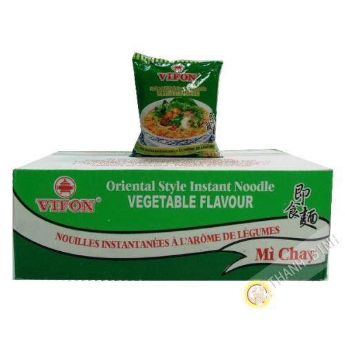 Soupe nouille végétarien VIFON carton 30x70g Vietnam