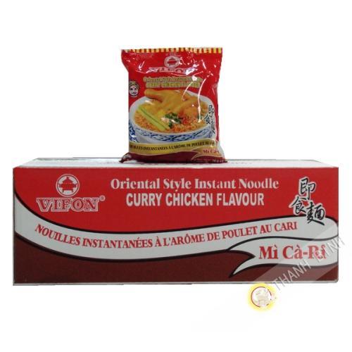 Soupe nouille poulet curry VIFON carton 30x70g Vietnam