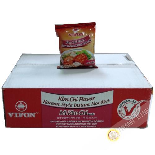 Soupe nouille kim chi VIFON carton 30x70g Vietnam