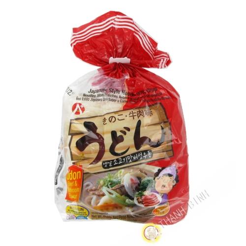 Nouille udon bœuf champignon 660g - Corée