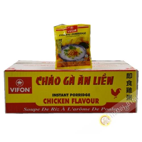 Soupe de riz poulet VIFON carton 50x50g Vietnam
