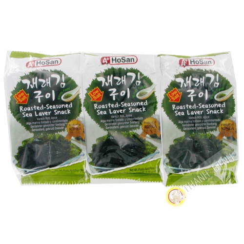 Algue préparation Wasabi 15g - Corée