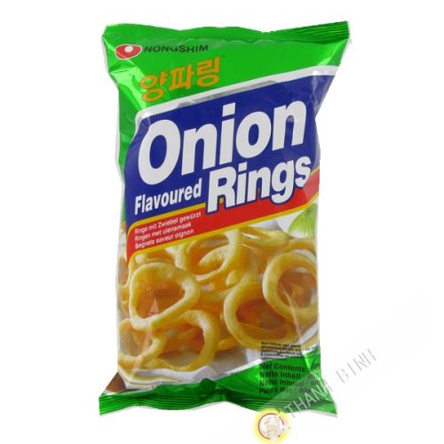 Chips onion rondelle NONGSHIM 90g Corée