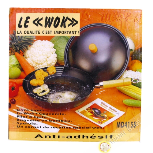 "Wok set 6pcs 12"" - Chine"