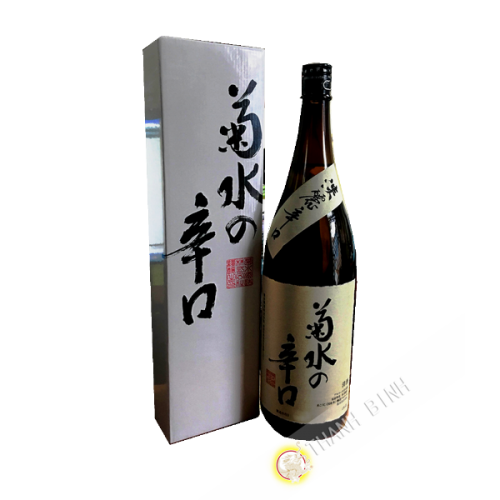 Saké japonais kikusui no karakuri KIKUSUI 1L8 15°80 Japon