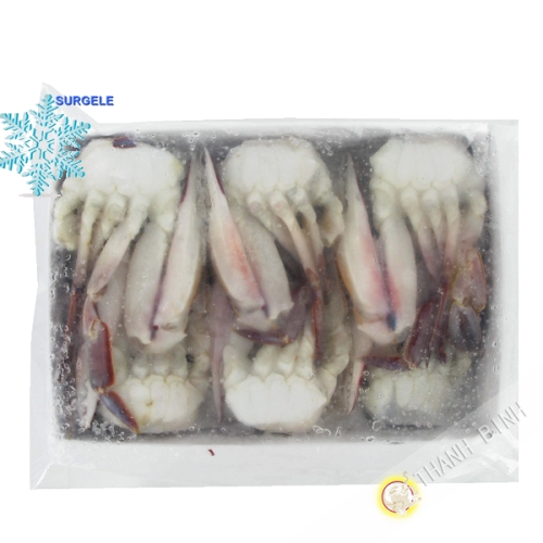 Crabe bleu coupé 1kg