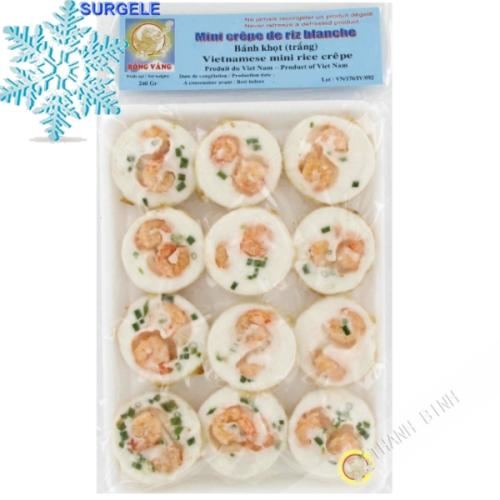 Mini crêpe de riz blanc 240g - SURGELES