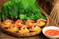 Banh Khot (Crêpe vietnamiennes aux crevettes et au porc)