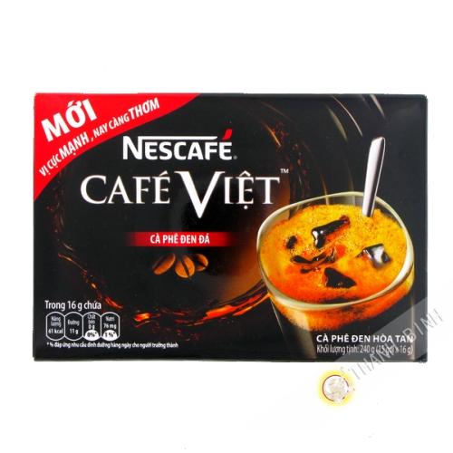 黑咖啡越溶性雀巢15x16g越南