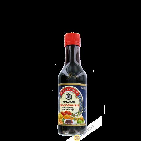 Sauce soja Sushi et Sashimi KIKKOMAN 250ml Hollande