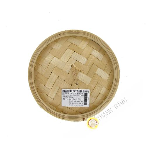 Couvercle vapeur en bambou