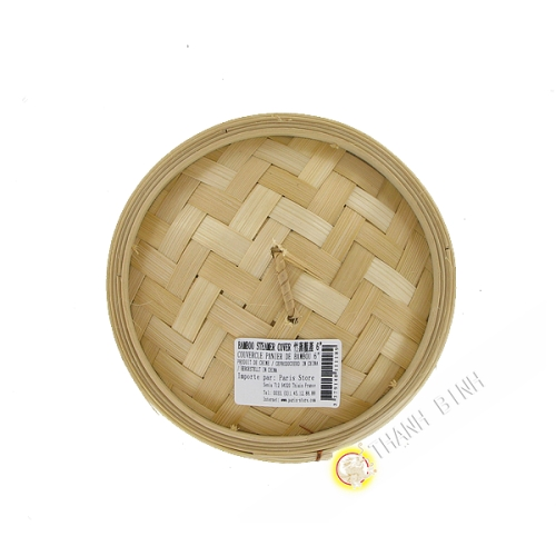 Deckel dampf aus bambus