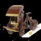 Cyclo wooden