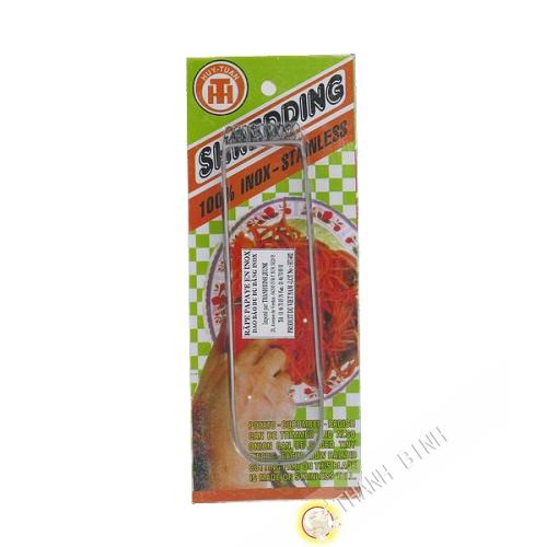 Râpe papaye inox 3,5x14cm Huy Tuan