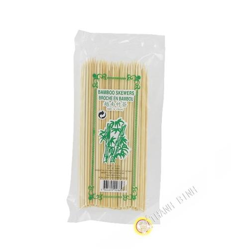 De Picnic con un pincho de bambú