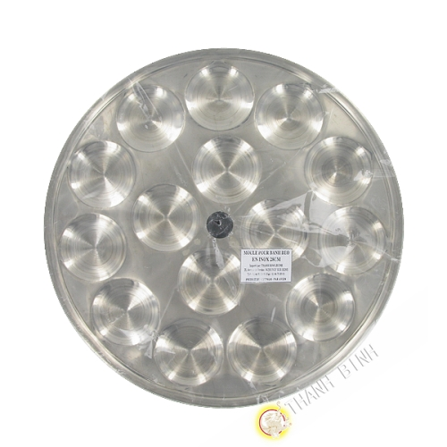 Mold Banh Beo stainless steel 28cm or 32cm Vietnam