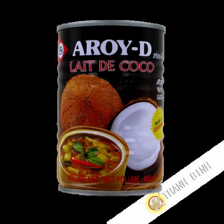 lait de coco pour la cuisine aroy d 400ml thailande