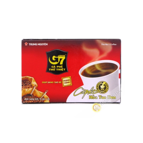 Black coffee soluble 3-in-1 TRUNG NGUYEN 30g Vietnam