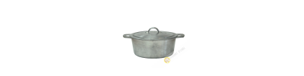 Marmite + couvercle en fonte 18cm à 30cm Vietnam