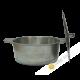 Marmite + couvercle en fonte
